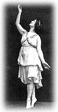 Isadora Duncan's Birth Date<BR>American Modern Dance