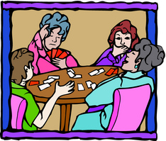 A Card Playing Party