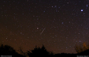 The Geminids Meteor Shower