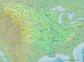 The Worlds Longest Rivers The MississippiMissouri River System - Longest river in the united states