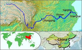 The Worlds Longest Rivers The Yangtze River EdHelpercom - What is the third largest river in the world
