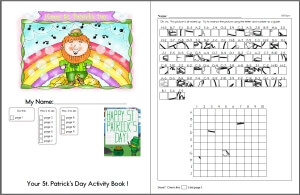 photograph about St Patrick Day Puzzles Printable Free identify St. Patricks Working day Puzzles - Worksheets, Classes, and Printables