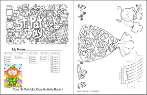 image regarding St Patrick Day Puzzles Printable Free identified as Totally free St. Patricks Working day Worksheets