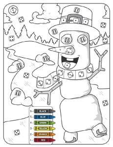 Preschool Subitizing Math Workbook