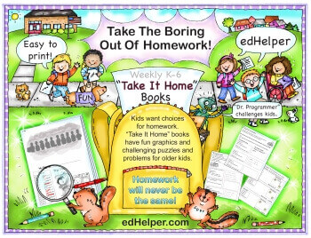 Take It Home Workbooks