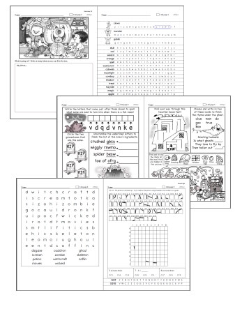 photograph regarding Free Printable Halloween Worksheets known as Totally free Halloween Worksheets