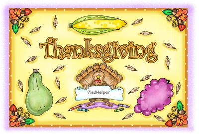 Thanksgiving Reading Comprehension - Worksheets, Lessons