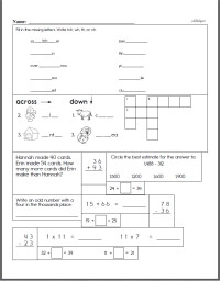 Third Grade Curriculum Resources