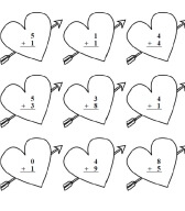 Valentine's Day Math - Worksheets, Lessons, and Printables
