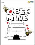 Valentine's Day Mazes Book #1 (easier)