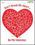 Valentine's Day Mazes Book #2 (more challenging)