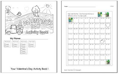 Free Valentine's Day Worksheets | edHelper.com