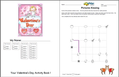 picture relating to Valentine's Day Crossword Puzzle Printable called Valentines Working day Crossword - Worksheets, Classes, and Printables