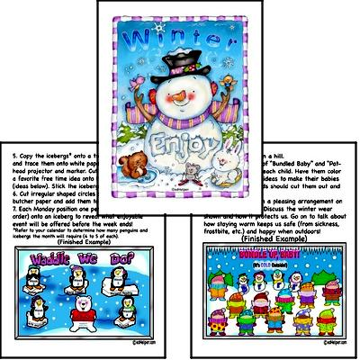 Winter Poster Pack for Bulletin Boards and Classroom Decorations