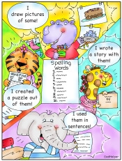 Build your own spelling worksheets