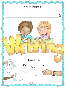This Month's Writing Practice Activity Pages