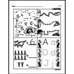 Free 1.OA.D.8 Common Core PDF Math Worksheets Worksheet #92