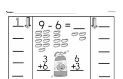 Free 1.OA.D.8 Common Core PDF Math Worksheets Worksheet #80