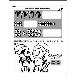 Free 1.OA.D.8 Common Core PDF Math Worksheets Worksheet #72