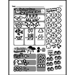 Free 1.OA.D.8 Common Core PDF Math Worksheets Worksheet #62