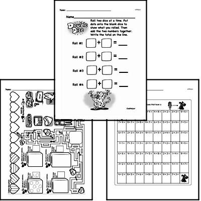 Addition - Addition within 20 Workbook (all teacher worksheets - large PDF)