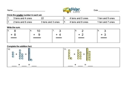 Addition Within 20 and Mixed Place Value.