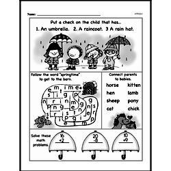 Free 1.OA.A.1 Common Core PDF Math Worksheets Worksheet #272