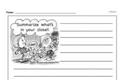 Free 1.OA.A.1 Common Core PDF Math Worksheets Worksheet #223