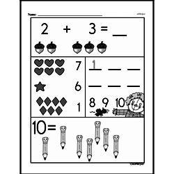 Free 1.OA.A.1 Common Core PDF Math Worksheets Worksheet #283