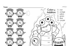 First Grade Addition Worksheets Worksheet #84