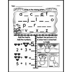 First Grade Addition Worksheets Worksheet #98