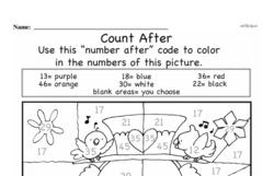 Free First Grade Addition PDF Worksheets Worksheet #8