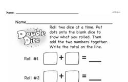 First Grade Addition Worksheets Worksheet #45