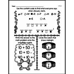 First Grade Addition Worksheets Worksheet #173
