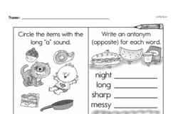 First Grade Addition Worksheets Worksheet #147