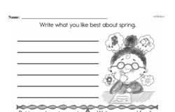 First Grade Addition Worksheets Worksheet #155