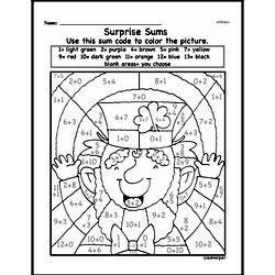 First Grade Addition Worksheets Worksheet #89