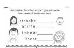 Free First Grade Addition PDF Worksheets Worksheet #148