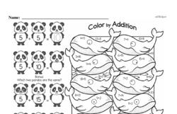 First Grade Addition Worksheets Worksheet #135