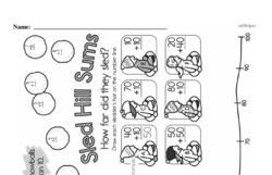 First Grade Addition Worksheets Worksheet #48