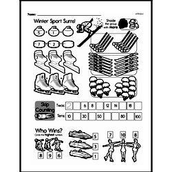 First Grade Addition Worksheets Worksheet #43