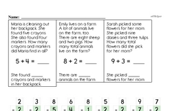 Addition Worksheets - Free Printable Math PDFs Worksheet #252