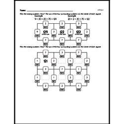 First Grade Addition Worksheets Worksheet #38
