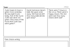 First Grade Addition Worksheets Worksheet #40