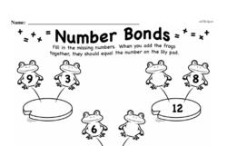 First Grade Addition Worksheets Worksheet #132