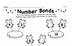 Addition Worksheets - Free Printable Math PDFs Worksheet #106