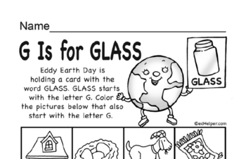 Earth Day Letters