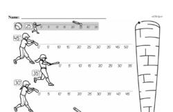 Free First Grade Data PDF Worksheets Worksheet #3
