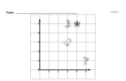 Free First Grade Data PDF Worksheets Worksheet #2