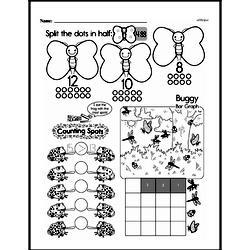 Free First Grade Data PDF Worksheets Worksheet #4